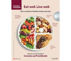 The New Canadas Food Guide Explained Goodbye Four Food