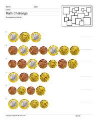 Maths Worksheets Money Euro | Homeshealth.info
