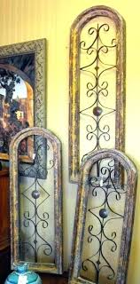 metal arch wall decor wood and metal wall decor arched metal wall art enchanting captivating wood