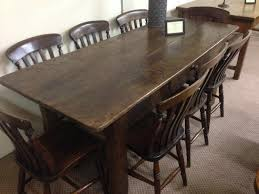 rustic oak farmhouse table and chairs rustic oak antique table french farmhouse circa dark on tms
