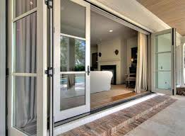 accordion patio doors accordion glass patio doors cost about remodel wow home design styles interior