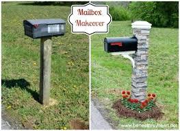 Unique Mailbox Post Mail Unique Mailbox Post Nongzico