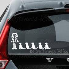 Crazy Dog Lady decal for car or truck window 4 x vinyl   Etsy