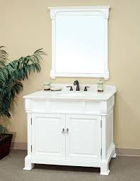 Perfect White Bathroom Vanity Ideas Bellaterra Home 205042 A Intended Concept