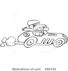 race car clipart black and white. Race Car Clipart Black And White With