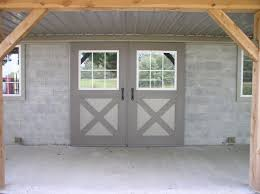 hinged barn doors. Endearing Hinged Barn Doors With Stallworks Double Hung R