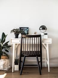 west elm office desk. Contemporary Elm 3 Incredible Home Fice Makeovers Front Main West Elm Office Desk And