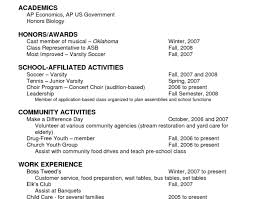 resume:Bright Ideas Scholarship Resume 6 Resume Examples Wonderful 10 Best  Examples Of Detailed Good