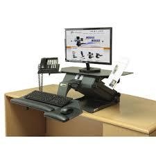 ergonomic solution healthpostures 6100 taskmate executive personalize desk