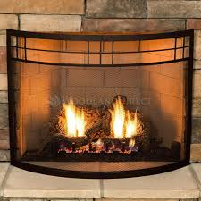 oil rubbed bronze fireplace screens doors with bowed decorative firescreens