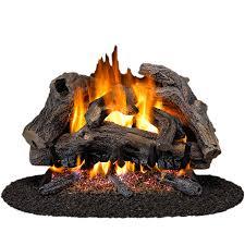 gas logs gas logs wood burning fireplace inserts