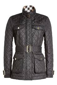 Burberry Quilted Jacket with Belt black women,burberry trench coat ... & ... Burberry Quilted Jacket with Belt black women,burberry trench coat cheap,retail  prices ... Adamdwight.com