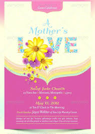 Mother Day Program Template Pluggedn