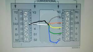 heat pump thermostat wiring doityourself com community forums heat pump thermostat wiring