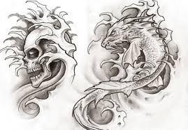 Motiv Tetování Lebky Atd 1065