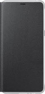 <b>Чехол</b>-<b>книжка Samsung</b> Neon <b>Flip</b> Cover для <b>Galaxy</b> A8+ black ...