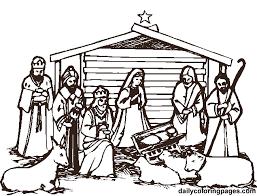 nativity coloring sheet free printable nativity scene coloring pages nativity scene bible