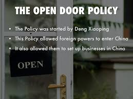 open door policy john hay. 8. Open Door Policy John Hay