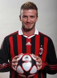 Beckham profile for AC Milan