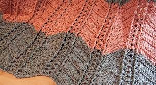 Ripple Afghan Patterns Cool Free Pattern] Simply Stunning Shell And Post Stitch Ripple Afghan