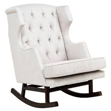 Rocking Chair Design, Baby Nursery Glider Rocking Chair With Ottoman Nice  Seating Modern Decorating Room