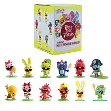 Happy Tree Friends Vending Machine Delectable Happy Tree Friends Mini Figure World Series 48 Blind Box YES