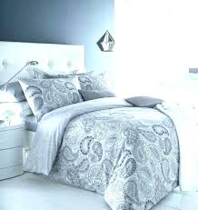 miller duvet cover grey home quilt gray paisley covers nicole bedding