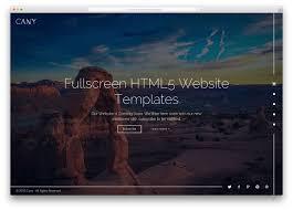 Top 40 Fullscreen Html5 Css3 Website Templates 2018 Colorlib
