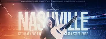 Garth Brooks Bridgestone Arena Seating Chart Garth Brooks Mix 92 9 Your Life Your Music Nashville Tn