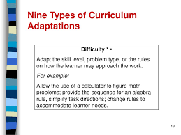 One Size Doesnt Fit All Adapted From Diana Browning Wright Ppt