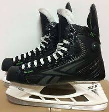 reebok 50k skates. reebok ribcore mens pro stock hockey skates size 10.25 (10 1/4) d 5779 50k e