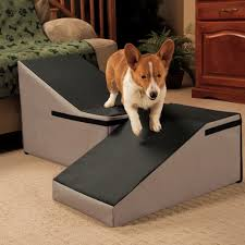 dog ramp pvc steps for your bed made with outdoor carpet