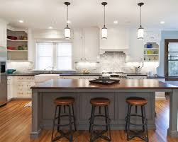 Pendant Lights In White Kitchen White Kitchen Cabinets Bay Window Pendant Lights Over Small