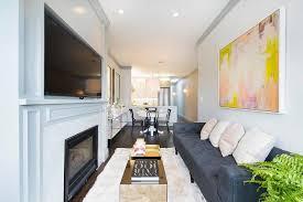 living room corner boasts