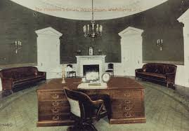 oval office picture. A Tinted Postcard Of The First Oval Office, Made During William Howard Taft Administration Office Picture