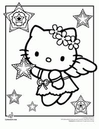 Small Picture 5 Hello Kitty Christmas coloring pages For Kids