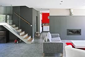 architecture intérieur maison moderne et écologique