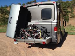 Bike Campers Enclosed Bicycle Hitch Carrier Holds An Easy Three Bikes