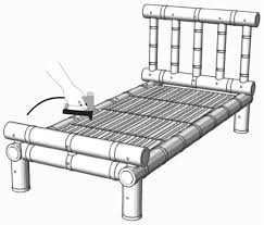 how to make bamboo furniture. How To Make A Bamboo Bed Furniture