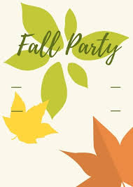 Fall Party For Kids Celebrate Autumn