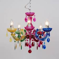 most cur marie therese 5 light dual mount chandelier multicoloured regarding coloured chandeliers view