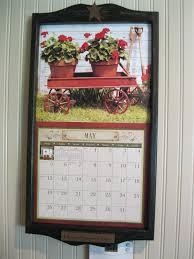 Primitive Calendar Holder