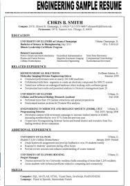 Examples Of Resumes Engineering Jobs Resume Sample 2016 Job Tag