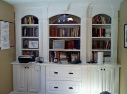 home office built in. image of home office built in