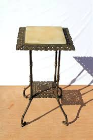 wrought iron indoor furniture. Wrought Iron Indoor Furniture Melbourne Antique Onyx Table Plant Stand Circa Century