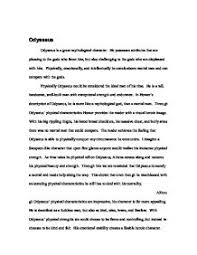 odysseus although odysseus physical characteristics are  page 1 zoom in