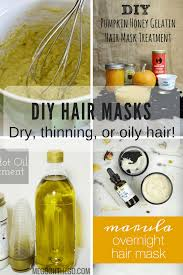 take your natural hair care to the next level with these diy hair mask recipes