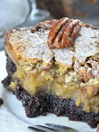 Chocolate Pecan Ooey Gooey Butter Cake Omg Chocolate Desserts