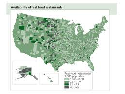 does fast food make you fat  fast food restaurant availabilty