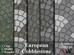 cobblestone floor texture. -SW- Seamless European Cobblestone Texture Pack -1024- Floor